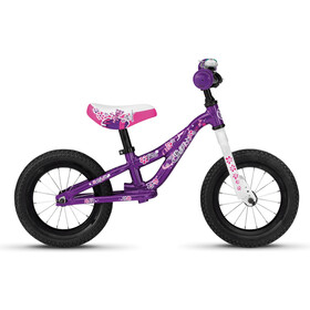 Ghost Powerkiddy AL 12 Enfant, shiny violet/star white/fuchsia pink